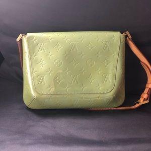 Authentic Louis Vuitton Thompson street green bag